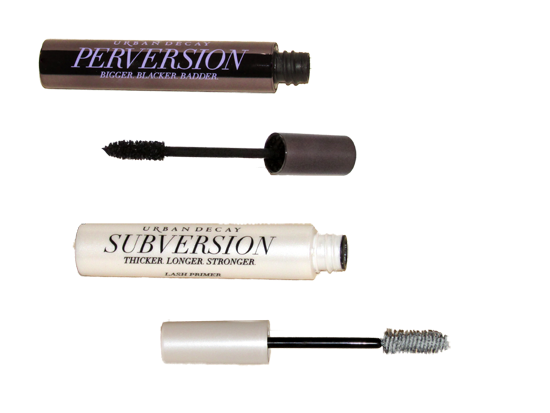 Urban Decay's Subversion Lash Primer with Perversion Mascara