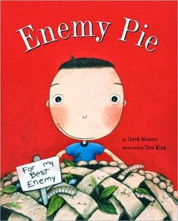 http://www.amazon.com/Enemy-Pie-Reading-Rainbow-book/dp/081182778X/ref=sr_1_1?s=books&ie=UTF8&qid=1395944396&sr=1-1&keywords=enemy+pie