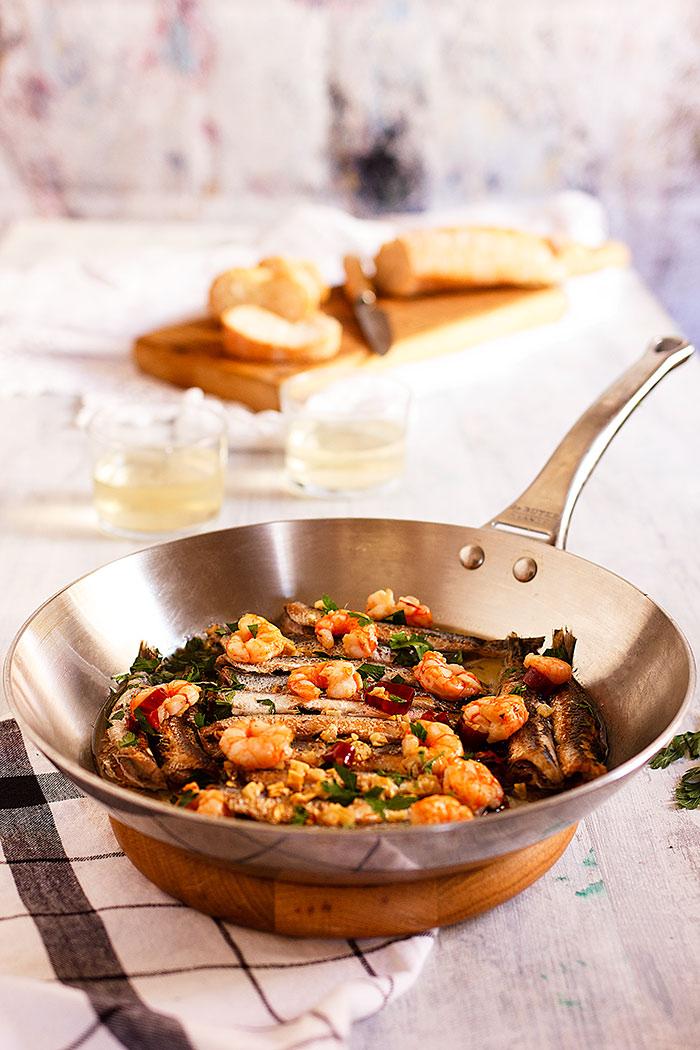 Yerbabuena en la cocina boquerones a la bilb ina - Temario fp cocina y gastronomia ...