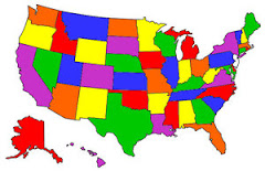States We've Been to During Our Marriage