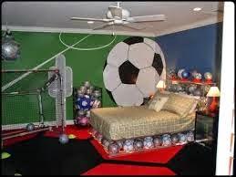 Nội thất với phong cách thể thao cho phòng ngủ của bé 2