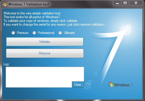 Windows 7 genuine validation tool for 32 amp; 64 bit  FreeTricksTech