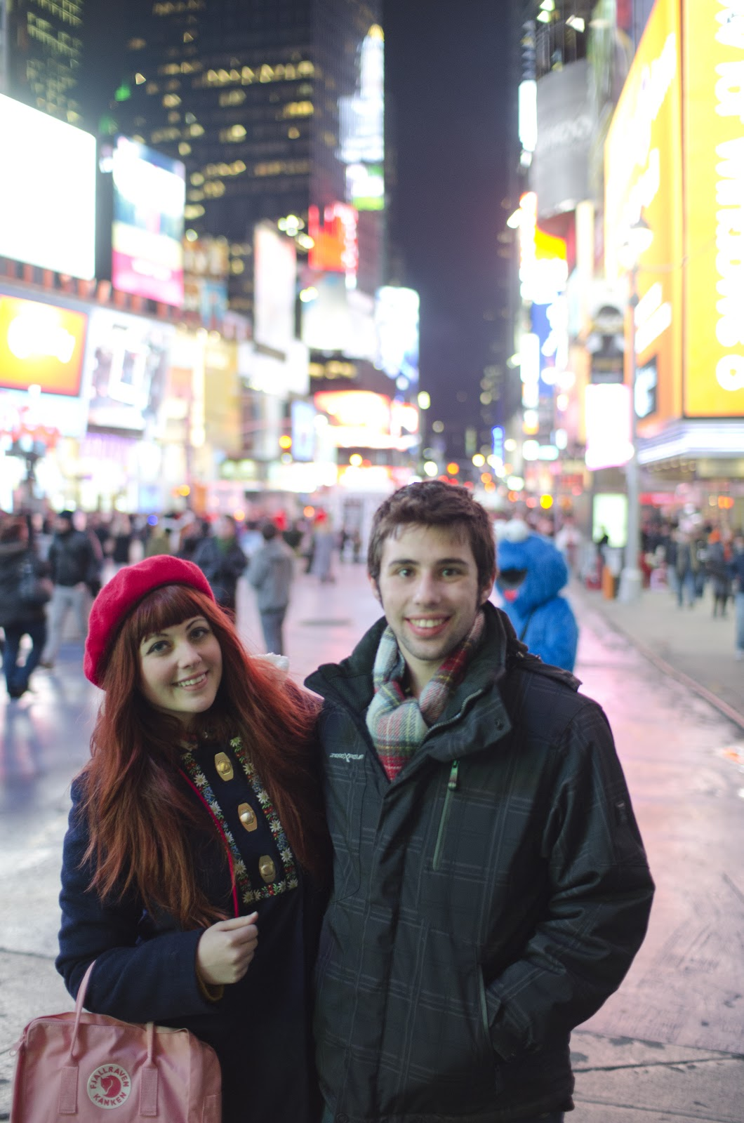 Fjallraven Kanken, Times Square
