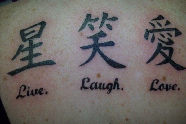 Over 60 Chinese Writing And Lettering Tattoo Ideas Tattoo Geek