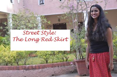 IshtyleAwhile: Street Style= Long Skirt image