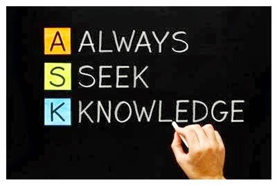 Always Seek Knowledge