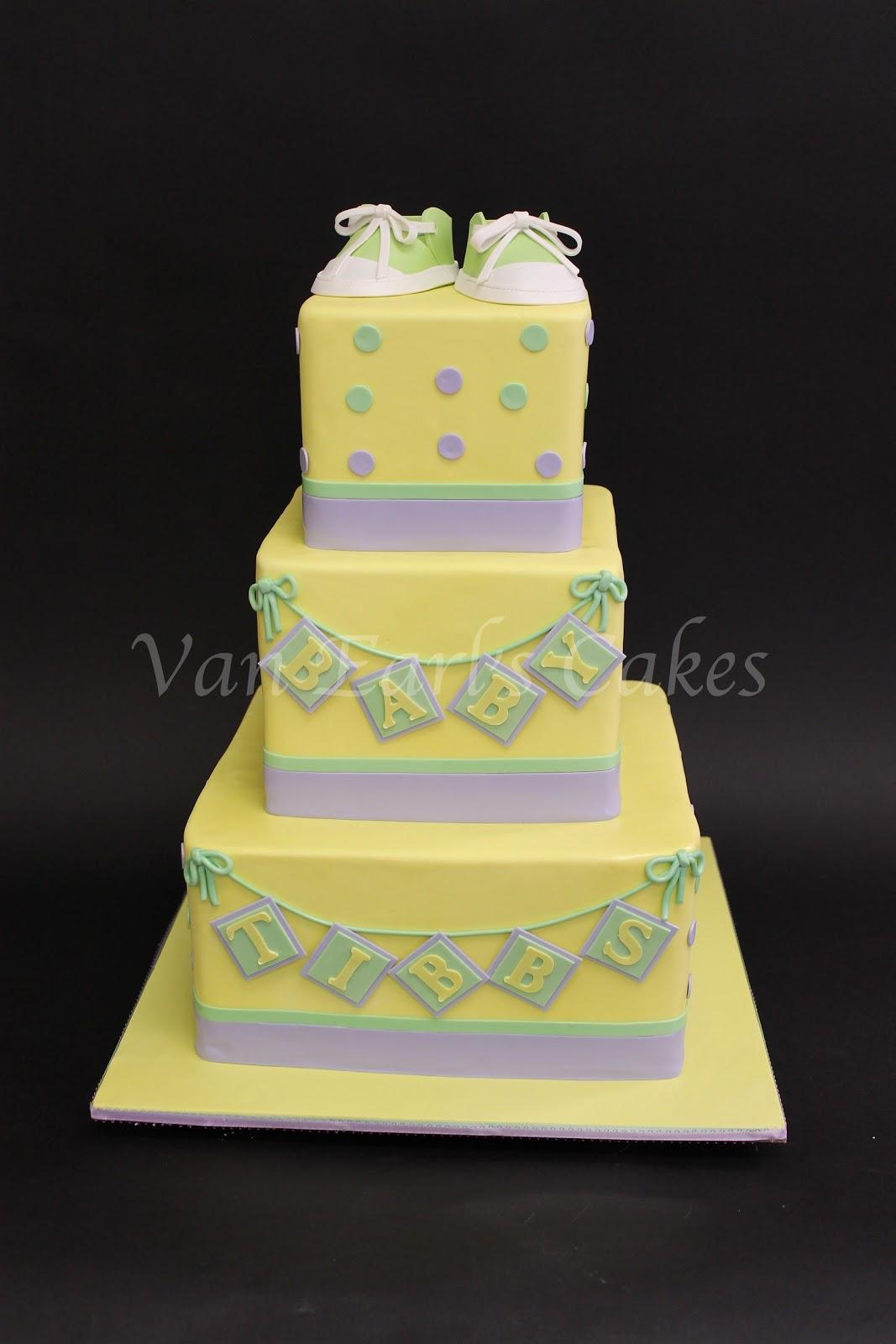 Van Earl S Cakes Baby Shower Cake