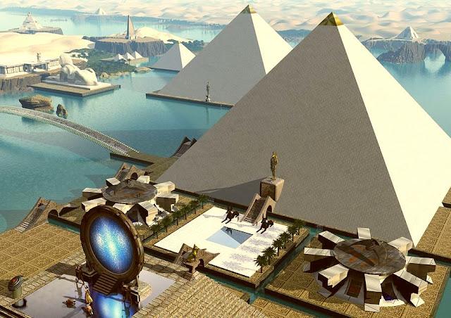 Dossier : école des mystères  Giza
