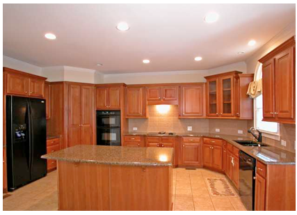 Would NOT Use Orange If You Have These Cabinets