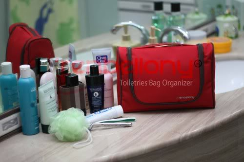 Toiletries Bag Organizer