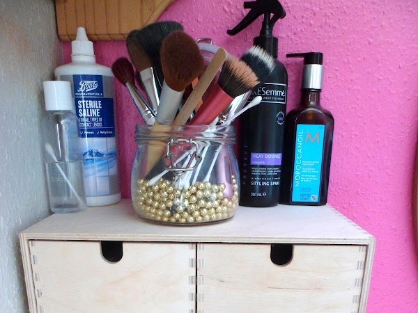 Makeup Storage - Ikea's Moppe Mini Chest of Drawers