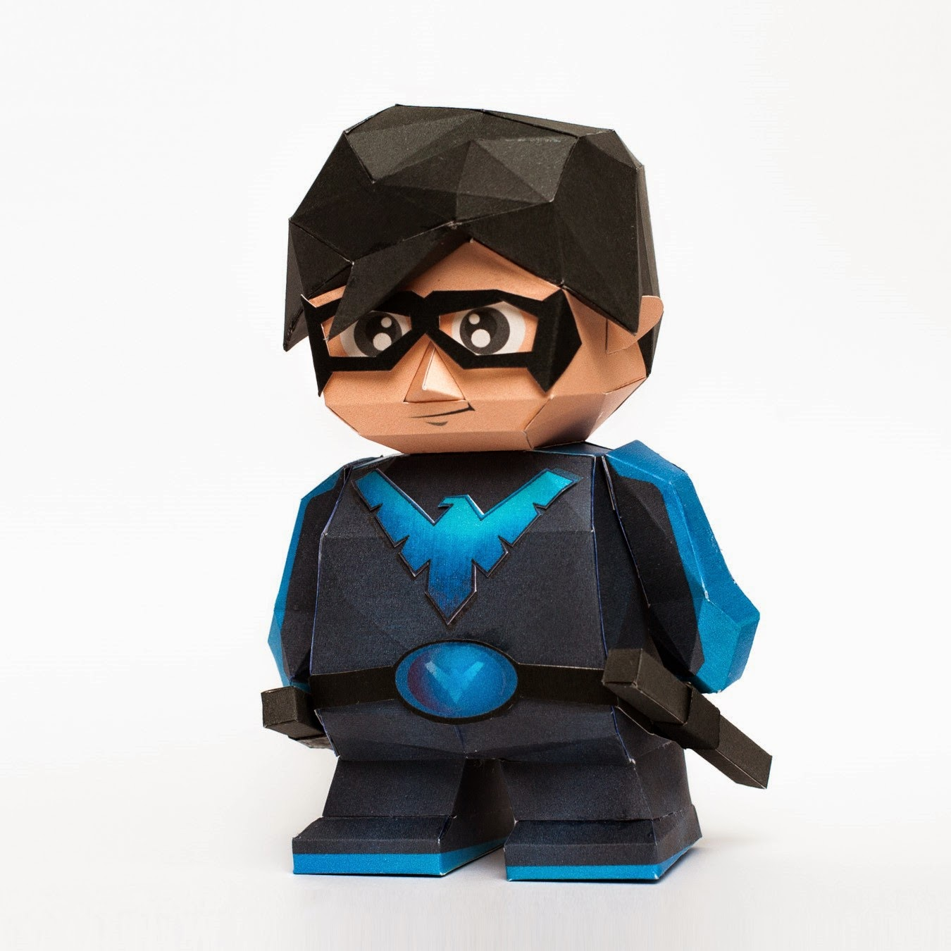 Nightwing Papercraft Model Paper Toy