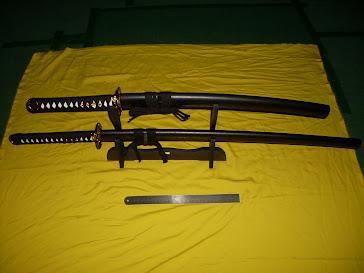 Pedang Samurai ( 3 lapis dan 2 lapis)