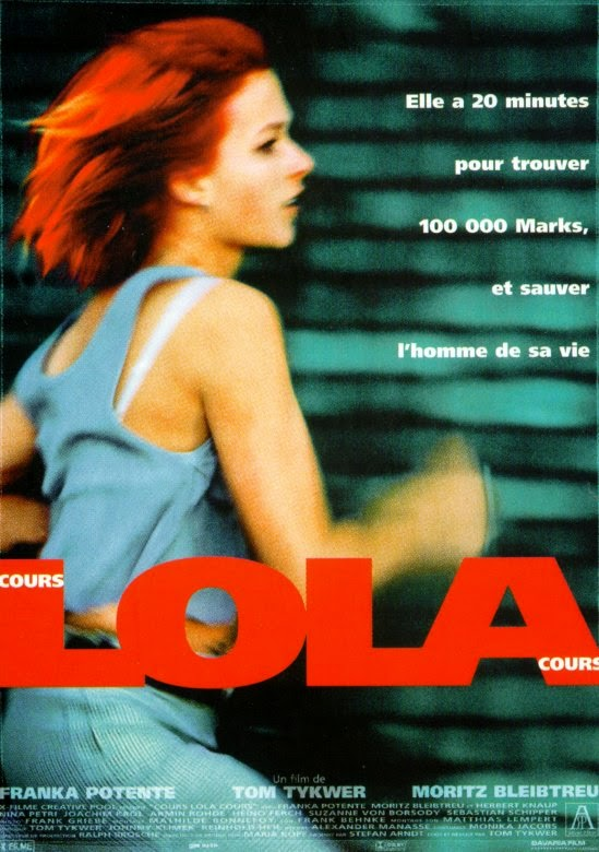 tom tykwer cours lola cours 1998. Black Bedroom Furniture Sets. Home Design Ideas