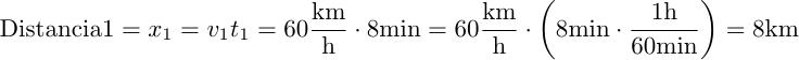 Calculo de la distancia 1