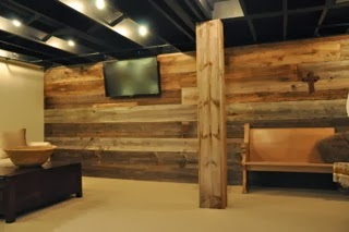 reclaimed wood chicago gallery gray reclaimed wood basement wall