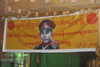 >Burmese Activists marked 4th year anniversary of Saffron
