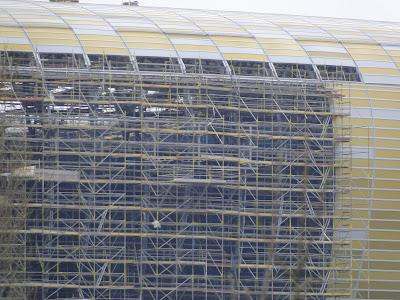 Miejsce montażu loga PGE Baltic Arena