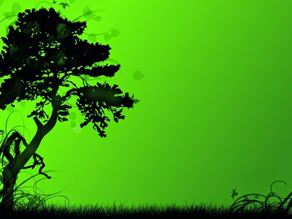 Keajaiban Warna hijau
