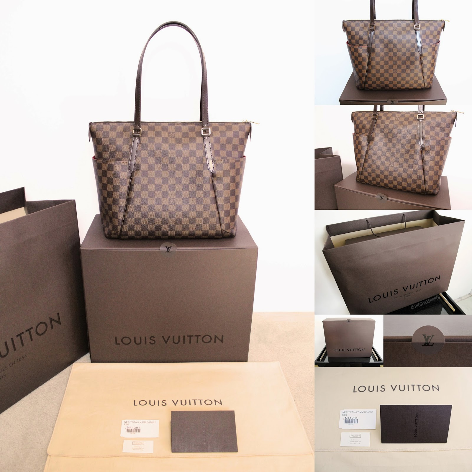 The Style Minded Louis Vuitton Totally Mm Damier Ebene First Impressions Pictures
