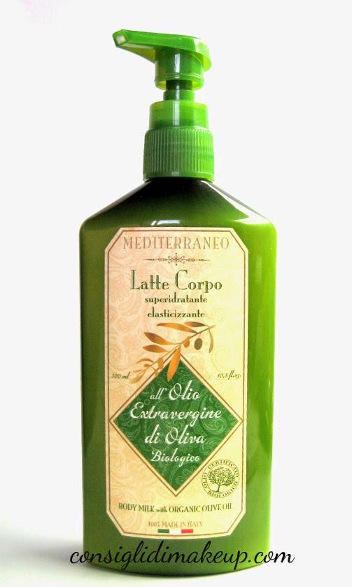 Review: Latte Corpo super idratante elasticizzante - Athena's Linea Mediterraneo