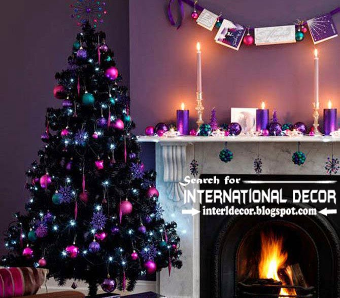 christmas decorating ideas for fireplace 2015 christmas mental fireplace for new year 2015 - Best Christmas Decorating Ideas