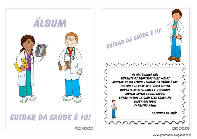 Álbum de Atividades Dia da Saúde