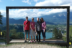 Family trip to Bled, Slovenia