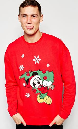 jersey rojo de Navidad para hombre de Asos