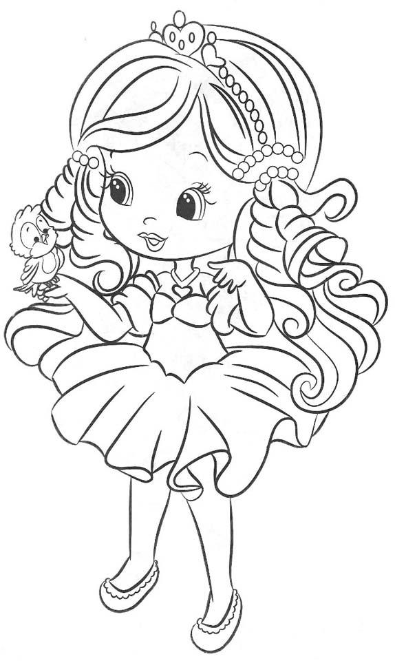Muñecas lindas para colorear - Imagui