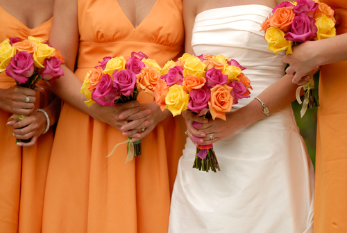If The Ring Fits: Wedding Colors: Orange