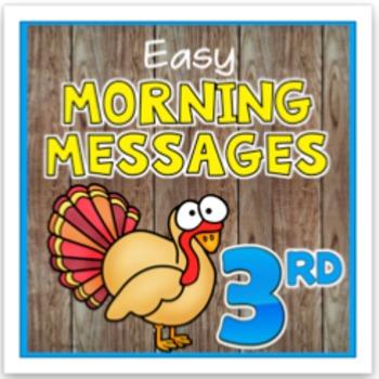 November Morning Messages
