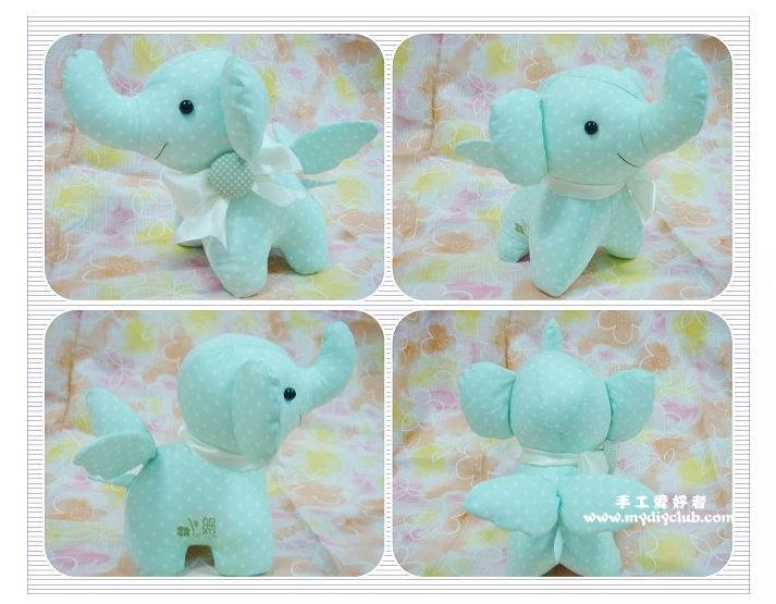 elefante de tecido