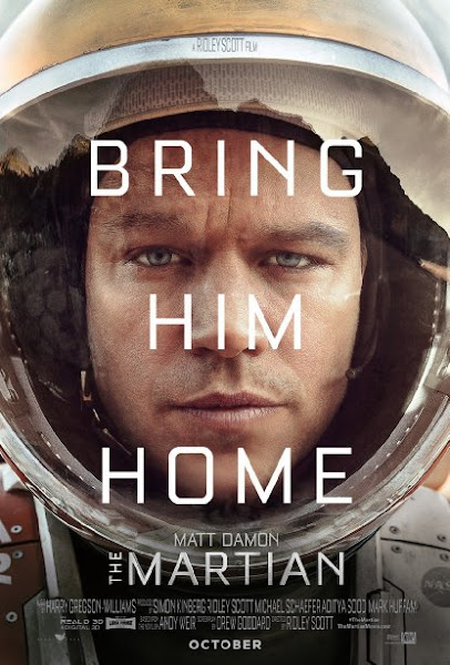 Poster Of The Martian 2015 720p BluRay English Full Movie Download