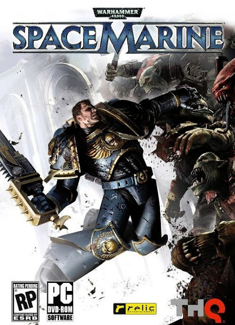 Warhammer 40.000   Space Marine + Crack