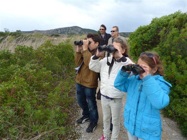 Οι τυχεροί νικητές του Παιδικού Διαγωνισμού Παραμυθιού «Το παραμύθι της Γιάλοβας: ένα ταξίδι στον κόλπο του Ναβαρίνου» επισκέφθηκαν τη Λιμνοθάλασσα Γι