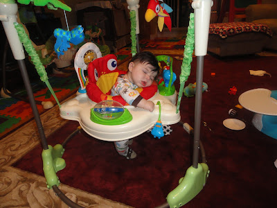 Wordless Wednesday  My baby sleeps anywhere!