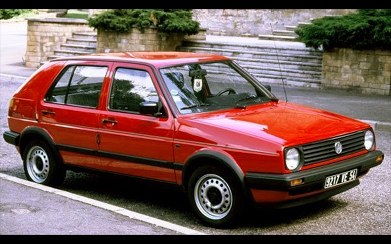Automotive Database Volkswagen Golf Mk2