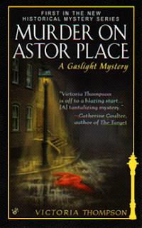 http://www.victoriathompson.com/My_Mysteries.html