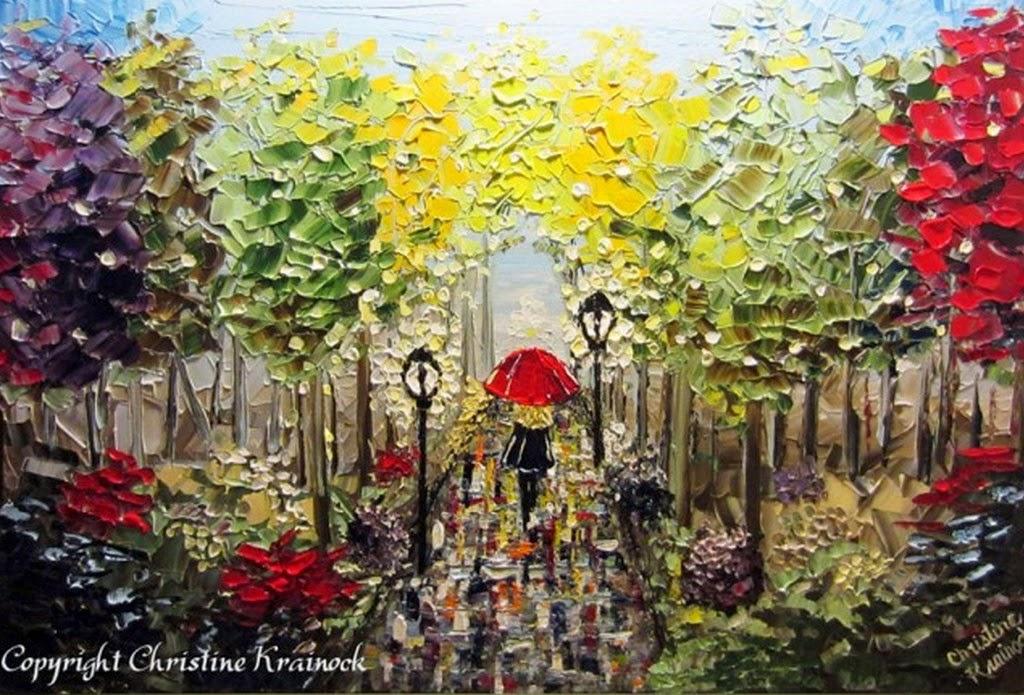 Pintura moderna y fotograf a art stica cuadros pintados - Cuadros pintados con spray ...