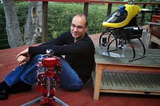 Andy Rubin Pencipta Android ingin menciptakan Robot?