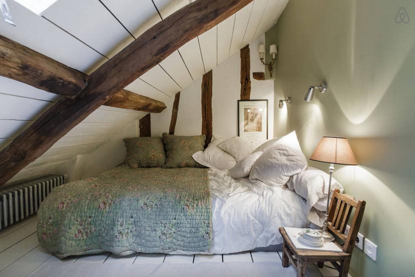 Places un d plex ecl ctico y acogedor para intercambiar - Diseno de habitaciones pequenas ...