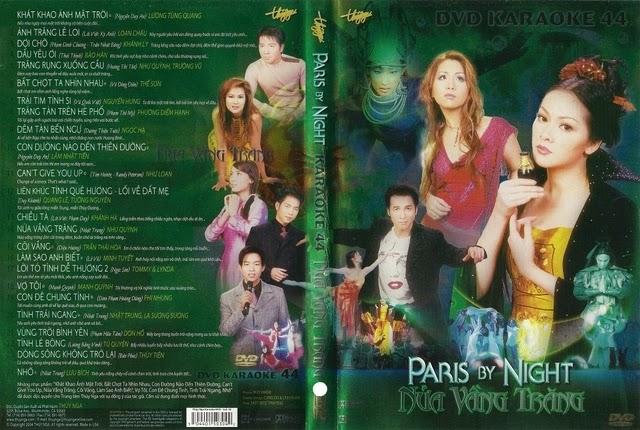PBN Karaoke 44: Nửa Vầng Trăng (DVD9)