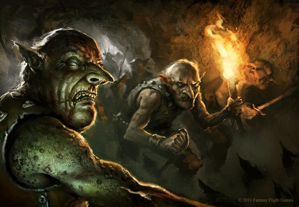 Darek Zabrocki daroz deviantart illustrations concept art fantasy games Goblins