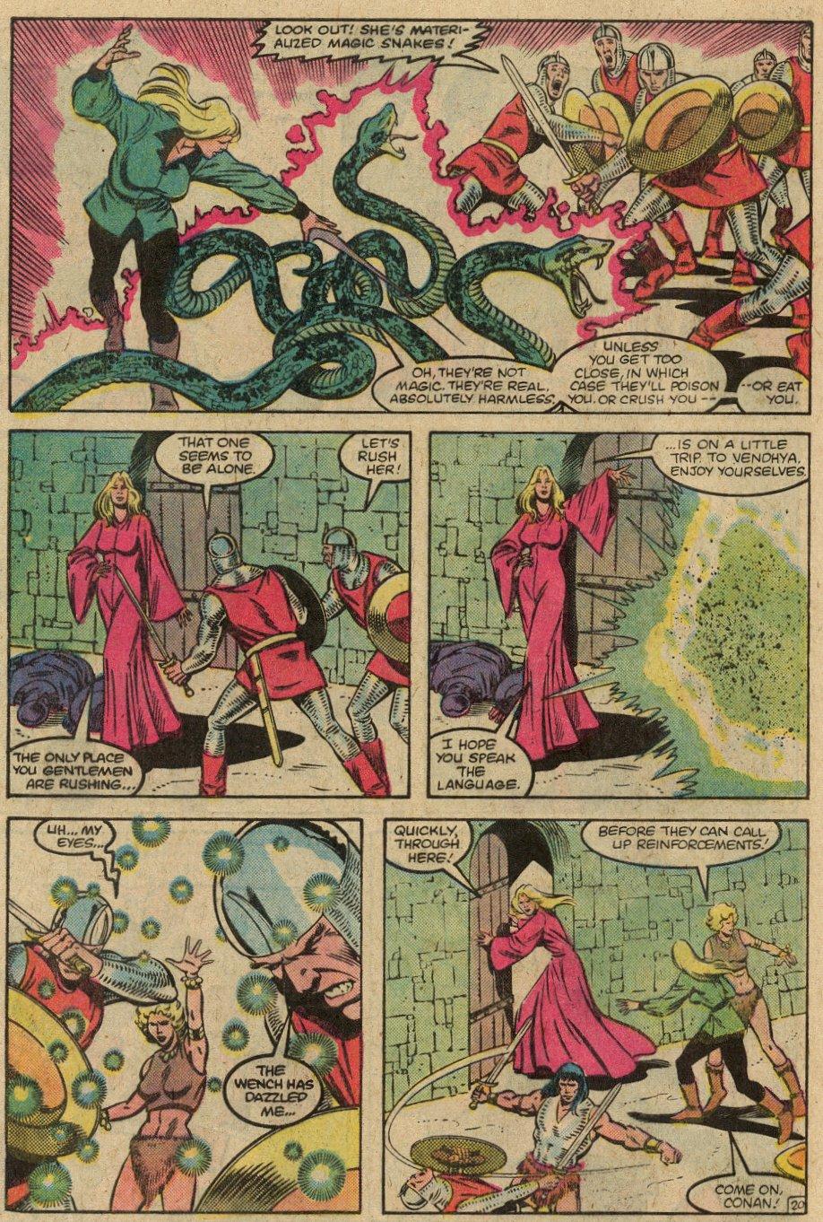 Conan the Barbarian (1970) Issue #146 #158 - English 23