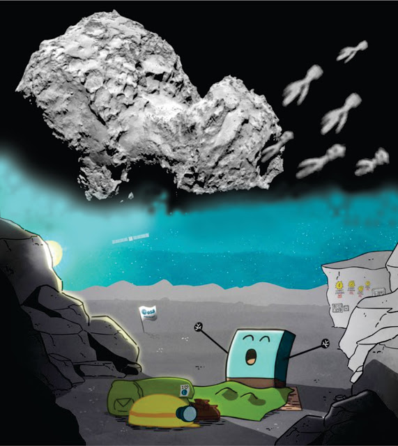 ¡La aventura sigue! PHILAE A DESPERTADO!