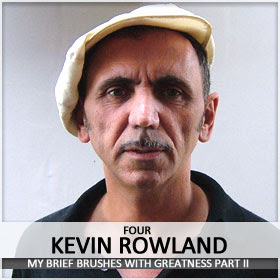 Kevin Rowland can't take the heat