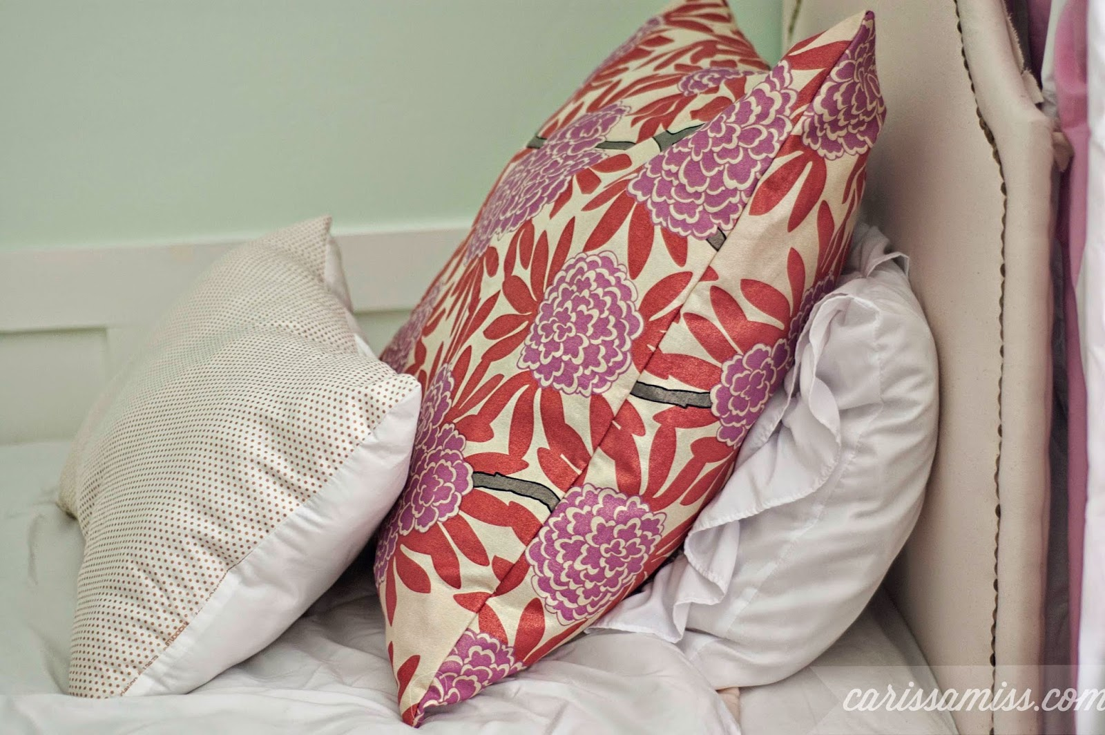 Carissa Miss: DIY Upholstered Bed