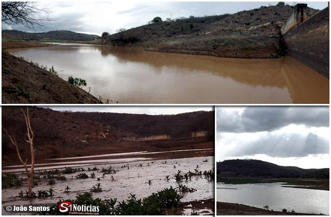 Barragem que abastece Solidão acumula água suficiente para 3 meses de consumo