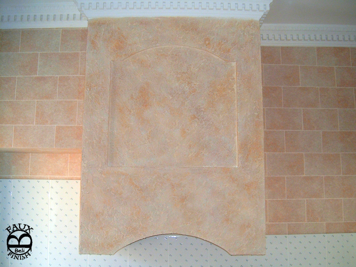 Travertine Faux Finish : Bb faux finish travertine antique